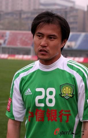 图文-[中超]武汉光谷0-1北京国安平常心助我进球