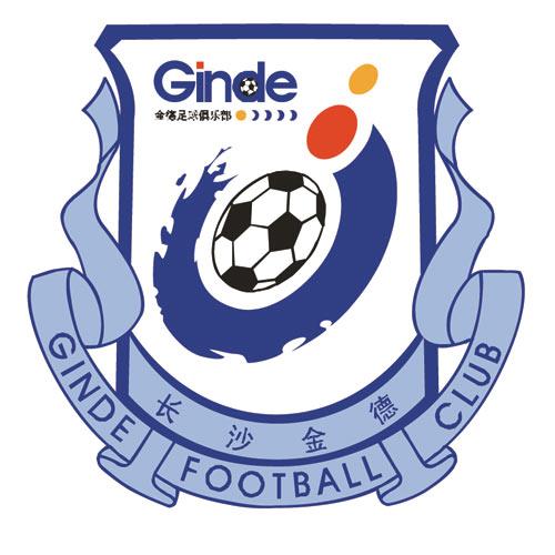 图文-2010赛季中超联赛16强队徽长沙金德俱乐部