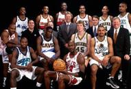 NBA老照片-98东部全明星合影还有几人激战联盟?