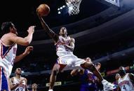 NBA老照片-艾弗森掀起风暴费城3号成最耀眼新秀