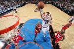 图文-[NBA常规赛]火箭VS76人史密斯突破欲上篮