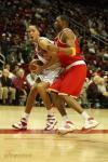 图文-[NBA常规赛]活塞VS火箭麦蒂防守普林斯