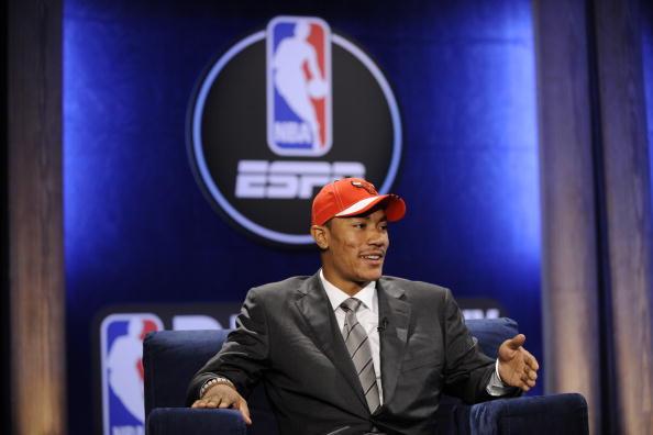 图文-2008NBA选秀大会开幕罗斯稳坐头把交椅