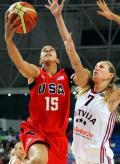图文-[钻石杯]美国84-74拉脱维亚 轻松上篮