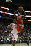 图文-[NBA常规赛]勇士vs火箭杰克逊飞身上篮
