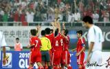 图文-[世预赛]中国队VS伊拉克国足进球告慰遇难同胞