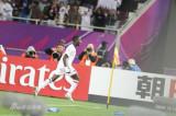 卡塔尔球员激情庆祝