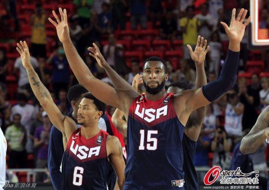 美国男篮八分之一决赛对手是墨西哥