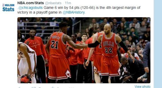54分是历史第四大季后赛分差