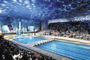 水立方将成水上娱乐中心赛后将拆除11000个座位