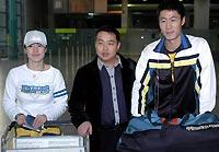 王励勤王楠抵港备战预选赛大力最看重奥运团体金牌