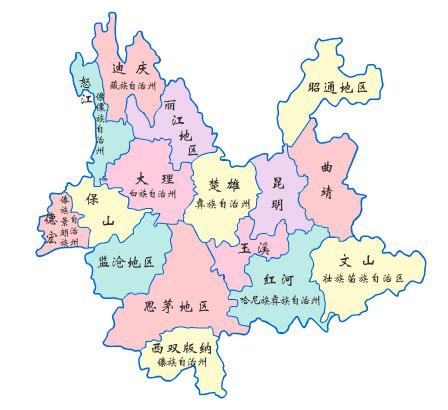 民族   云南是中国少数民族最多的省份,全国56个民族中,云南就有52