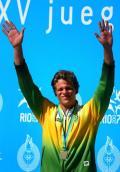 资料图-泛美运动会游泳金牌得主 巴西名将西耶罗