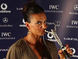 伊辛巴耶娃当选劳伦斯最佳女运动员第二次获殊荣