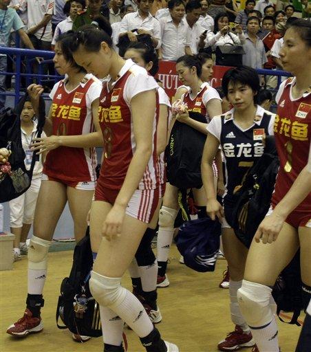 失落的中国女排