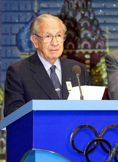 前国际奥委会主席萨马兰奇逝世享年89岁