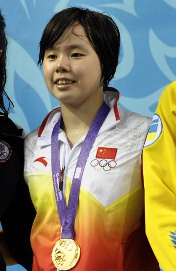 青奥会白安琪复仇200米仰泳登顶唐奕破纪录夺金
