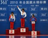 全国跳水赛陈若琳最后一跳逆转获女子10米台冠军