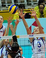 女排世锦赛俄罗斯3-1逆转多米尼加卫冕征程开门红