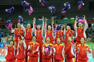 精英赛-中国女排3-1荷兰不败战绩斩获赛季第二冠