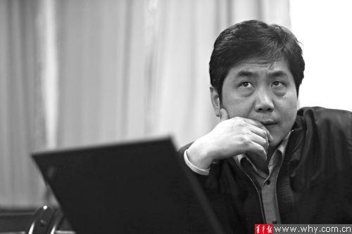 张辉教授是中国体育运动的技术诊断专家。本版摄影记者丁嘉