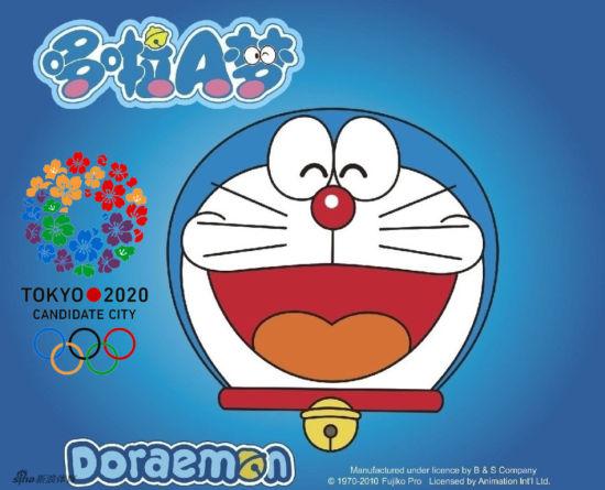 """""""至于在中国被认为很不错的动画人物机器猫做宣传,曼斯克特表示:""""难道"""