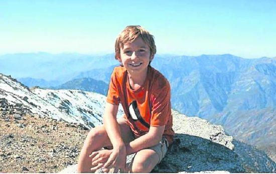 美国十次啦怎么看不了_9岁美国男孩征服南美洲最高峰 海拔近7000米(图)