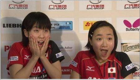 日本13岁乒乓冠军
