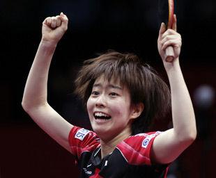世乒赛石川佳纯独取2分日本3-1晋级将与中国争冠