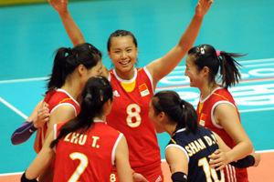 魏秋月压阵中国女排3-1力克泰国夺香港站开门红