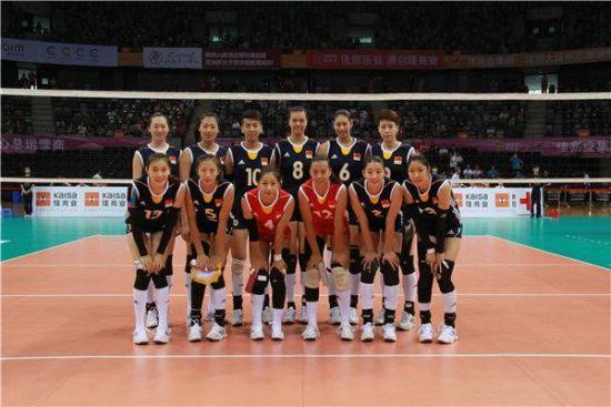 中国女排亚洲杯阵容