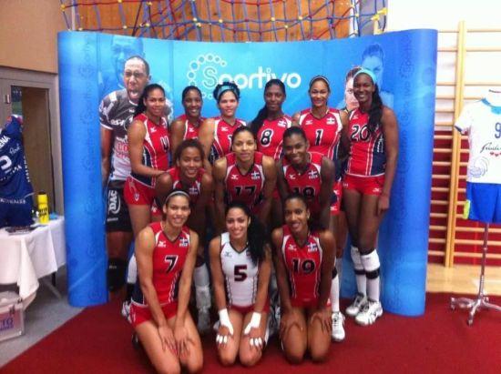 多米尼加女排12人