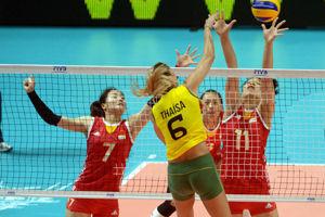 女排世锦赛中国0-3遭巴西横扫六强赛无缘开门红