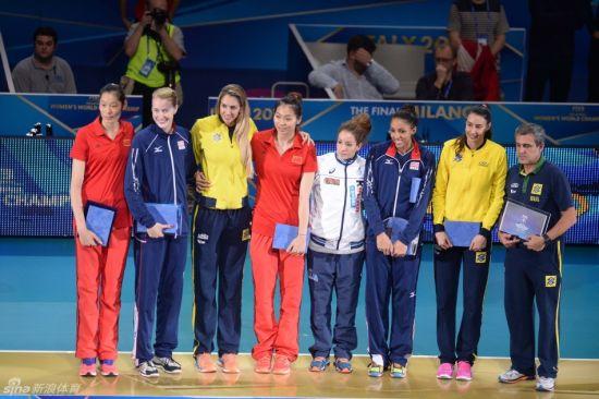 2014年女排世锦赛最佳阵容
