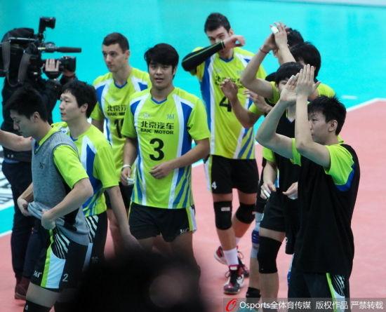 季军争夺战第1场北京主场3-0胜江苏
