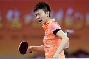 直通赛木子搅局连胜武杨丁宁获世乒赛单打门票