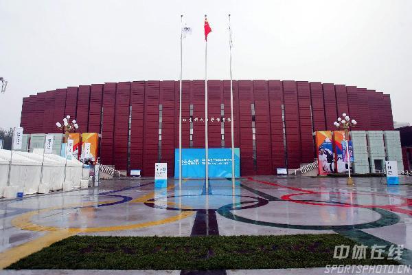 图文-奥运场馆之北京科技大学体育馆 场馆正面