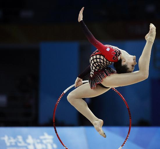 图文-好运北京艺术体操国际邀请赛里森宗发挥极佳