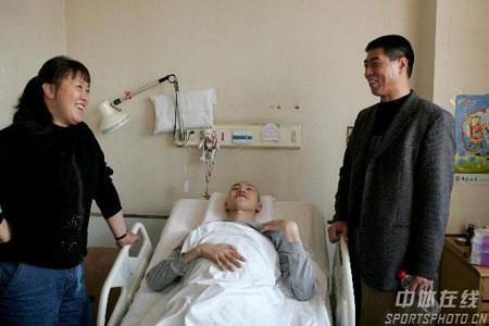 图文-排管中心主任徐利看望汤淼张蓉芳徐利与汤淼