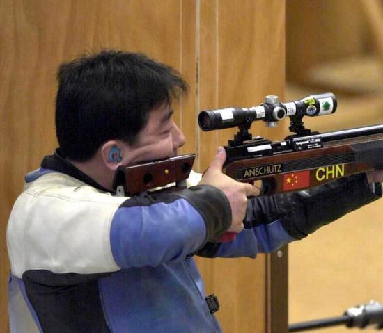 图文-中国历届夏季奥运会金牌得主 杨凌个人第一金