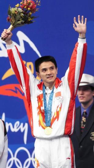 图文-中国历届夏季奥运会金牌得主 老将熊倪立新功
