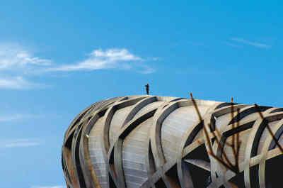 图文-北京建筑的新地标--奥运之光国家体育场