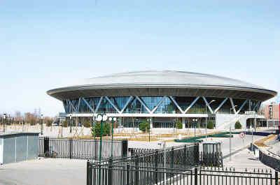 图文-北京建筑的新地标--奥运之光老山自行车馆