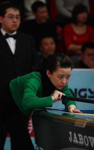 图文-精英赛潘晓婷半决赛8-9林沅君潘晓婷遗憾出局
