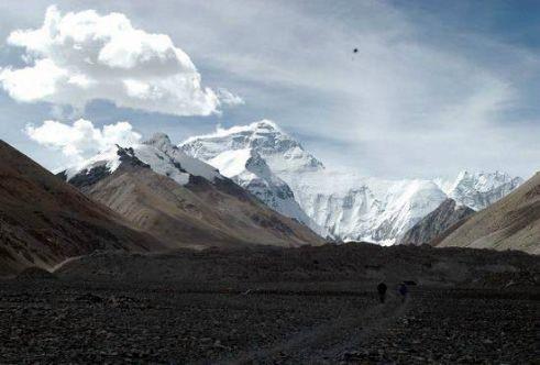 图文-雄伟壮丽的珠穆朗玛峰 珠峰之上气象万千