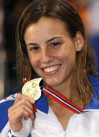 图文-欧洲游泳锦标赛跳水赛况金牌配美女完美无瑕