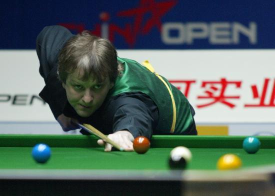 图文-斯诺克中国赛中国八虎冲击正赛他击败张安达