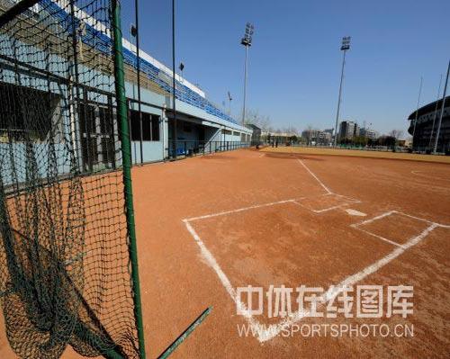 图文-奥运场馆巡礼之丰台垒球场 一切都已准备就绪