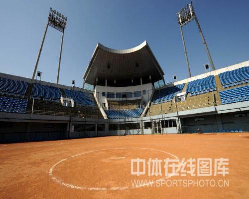 图文-奥运场馆巡礼之丰台垒球场 设计先进的球场