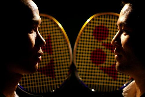 图文-美国奥运代表团成员写真 羽毛球双星亮相